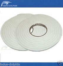 Self Adhesive Draught Window Door Tape 2 x 5m Strip Windproof Foam Seal Gaps 2pk