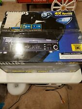 Philips CDR820 CD Player/ Recorder, 3 tray CD Changer/1 tray recorder, NOB!