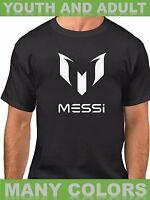 Lionel Messi FC Barcelona Spain Argentina Futból Jersey Shirt Adult Kids Gift