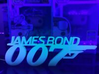 GitD James Bond 007 Display For Funko Pops