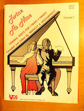 Twice as Nice Original Duets for Piano and 4 Hands -D