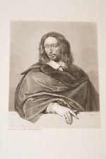 Portrait- ARNAULD d'ANDILLY-GRAVURE ACIER-VERSAILLES