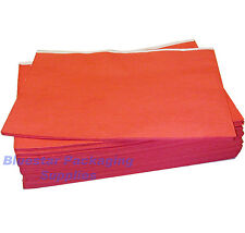 50 x Red Disposable Paper Table Cloth Cover 90x90cm