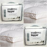 Special Offer Luxury Duck Feather & Down Mattress Topper Matters Cover