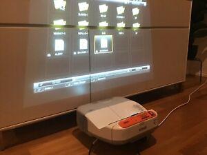 Epson EB-480e HDMI usb lan projector RRP $1999 - includes remote.