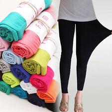 Fashion Women's Sexy Stretchy Leggings Skinny Cotton High Waist  Pants Jeggings