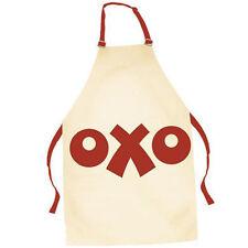 Retro Cotton Apron - OXO - Cream & Red