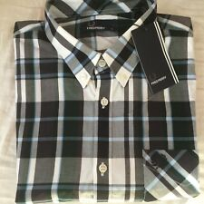 Men's Genuine Fred Perry bold check shirt long sleeve Large Rrp £80
