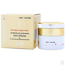 Anti wrinkle DAY CREAM for very dry face skin, 94% natural ingredients, 50ml