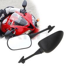 Black Aftermarket Mirrors For 2003-2012 Honda CBR600RR 2004-2007 CBR1000RR