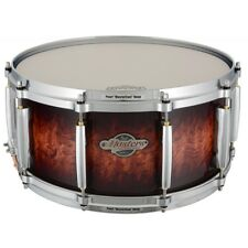 "Pearl Masters BCX 14"" X 6.5"" Snare Drum/LAVA BUBINGA/Finish #818/Birch Shell/NEW"