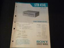 Original Service Manual Schaltplan Sony STR-414lL