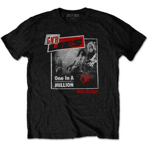 Guns N' Roses 'One In A Million' (Black) T-Shirt - NEW & OFFICIAL!