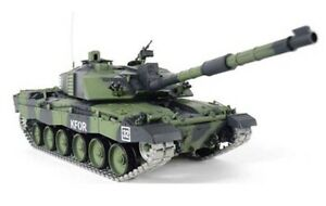 Radio Control Heng Long 1/16 Challenger 2 Tank Camouflage LIMITED EDITION UK