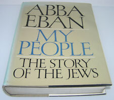 ABBA EBAN MY PEOPLE : 1st Edition 1st Printing Original HAND-SIGNED&DEDICATION