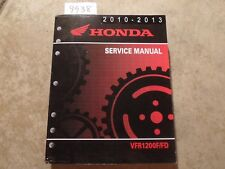 2010 2011 2012 2013 Honda VFR1200F VFR1200FD Motorcycle Service Repair Manual