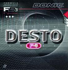 Donic Desto F4 Revestimiento de Tenis de Mesa Revestimiento de Ping Pong