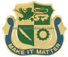 ARMY 1ST ARMORED DIVISION SPECIAL TROOPS BATTALION UNIT CREST