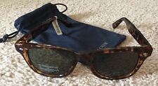 J. Crew  Sunglasses Tortoise With Microfiber Pouch New With Tags