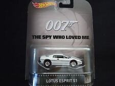 Hot Wheels Lotus Esprit 007 The spy who loved me James Bond BDT77-996K 1/64
