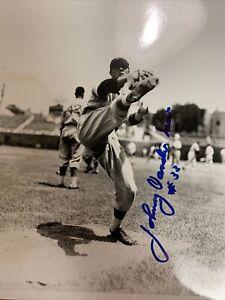 JOHNNY VANDER MEER Cincinnati RedS Autograph  8X10 PHOTO BACK TO BACK NO HIT C