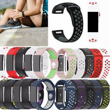 For Fitbit Charge 2 Silicone Replacement Sport Wrist Strap Band Watch Accessory