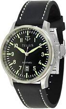 Tellus Plongeur T2063-002 Black Dial Watch (Automatic Swiss ETA 2824-6 Movement)