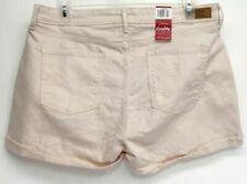 Denim Pink Plus Size Shorts for Women