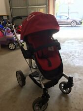 Teutonia T-Linx Venetian Red Travel System Single Seat Stroller