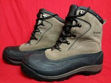 Columbia Cascadian Summit Men US10 Water Resistant Thermolite Boots BM1168-255