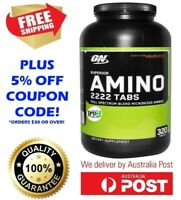 Optimum Nutrition Superior Amino Acid 2222 TABS 320 Tablets ON ENERGY RECOVERY