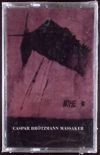 Caspar Brotzmann Massaker-Home LP CASSETTE THIRSTY EAR 1995 SEALED OOP