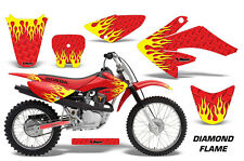 Honda Graphic Kit AMR Racing Bike Decal CRF 80/100 Decal MX Parts 04-10 DMND FLM