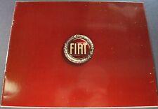 1976 Fiat Brochure 124 Sport Spider X1/9 128 131 Coupe Wagon Excellent Original
