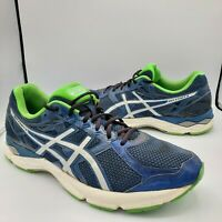 Asics Gel Exalt 3 Duomax Mens Size 12 Blue Size Running Shoes T616N