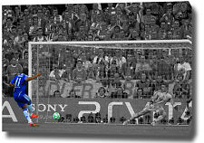 "DROGBA PRINT POSTER PHOTO CANVAS WALL ART 30""x20"" 2012 CHELSEA CHAMPIONS LEAGUE"