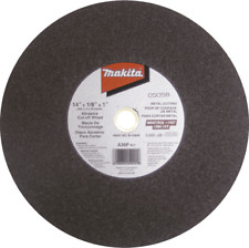 "Makita B-10849-25 14"" x 1"" x 7/64"" Abrasive Cut‑Off Wheel, 25/pk"