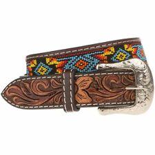 Western Fashion Accessories Mens Beaded Belt