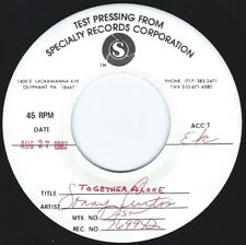 SONNY CURTIS Together Alone ((**NM 45 TEST PRESSING**)) from 1982