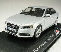 MINICHAMPS - Audi A4 - silber metallic - SONDERMODELL Neckarsulm 2007 - 1:43