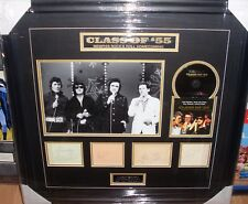 JERRY LEE LEWIS  ROY ORBISON  JOHNNY CASH  CARL PERKINS  SIGNED MONTAGE AFTAL