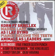 Rock Sound - Music With Attitude Magazine CD / Vol.155 - December 2011