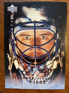 Rookie Hockey Trading Cards Stephane Fiset For Sale Ebay