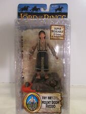 Lord of the Rings Return of the King Mount Doom Frodo SUPER POSEABLE & TALKS~MOC