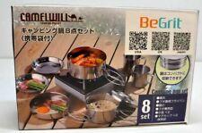 BeGrit Outdoor Camping Wandern Picknick 8teileTopfset Kochgeschirr 17-AC8069/808