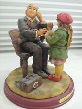 Vintage Doctor And Doll Figurine