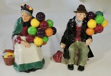 Royal Doulton The Balloon Man H.N.1954 The Old Balloon Seller H.N.1315 Figurines