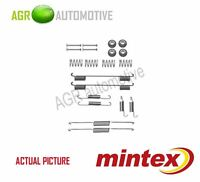 MINTEX REAR BRAKE SHOES SET FITTING KIT PIN SPRINGS GENUINE QUALITY - MBA861