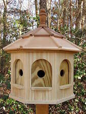 Wood Birdhouse Amish Homemade Handmade Handcrafted Large