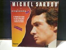 MICHEL SARDOU Programme plus Et mourir de plaisir ... impact 8161191